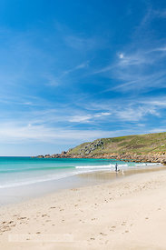 Gwynver (Gwenver) Beach, near Sennen, Cornwall - BP6739