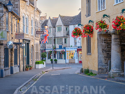 Street in Tetbury, Cotswolds