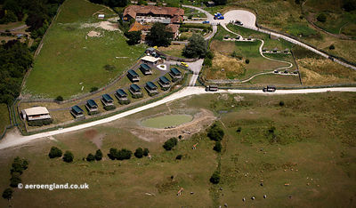 Port Lympne Wild Animal Park aerial photograph