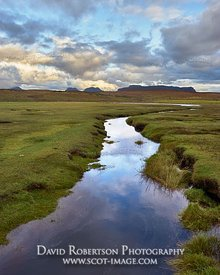 Image - Salt marsh at Achnahaird, Coigach, Wester Ross, Highland, Scotland.
