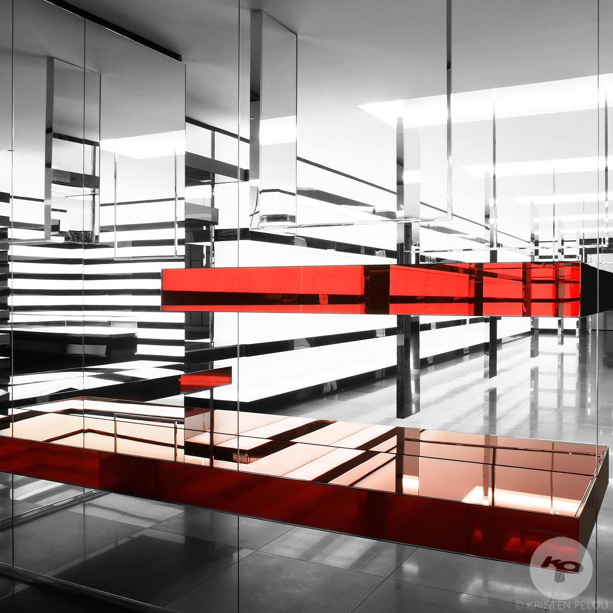 Retail architecture photographer Paris - DIOR HOMME STORE PEKING ROAD HONG KONG