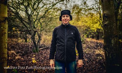Mick Edwards, one of the founders of Rother Valley mountain bike club.