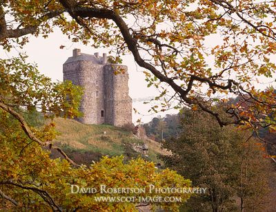 Image - Neidpath Castle, near Peebles, Scottish Borders, Scotland
