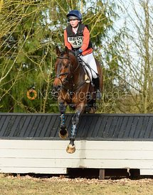 Lizzie Baugh and QUARRY MAN - Intermediate Sections - Oasby Horse Trials, March 2018.