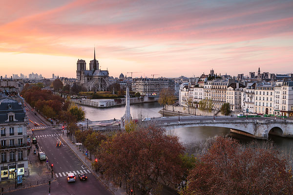 End of the Day in Paris