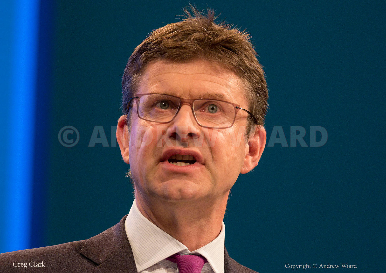 England, UK . 2.10.2017. Manchester . Conservative Party Conference, Monday. Greg Clark.