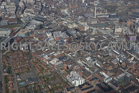Liverpool the area surrounding the Ropewalks including Duke Street Seel Street Slater Street and Wood Street areas
