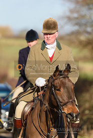 Arriving at the meet. The Tynedale hounds visit the Belvoir Hunt at Sheepwash 12/2