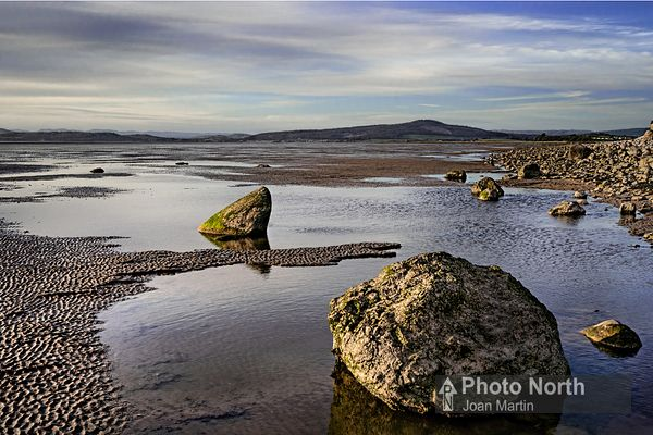 BOLTON LE SANDS 31A - Low tide at Red Bank