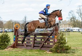 Andrew James and HOLD ME DOWN, Belton Horse Trials 2019