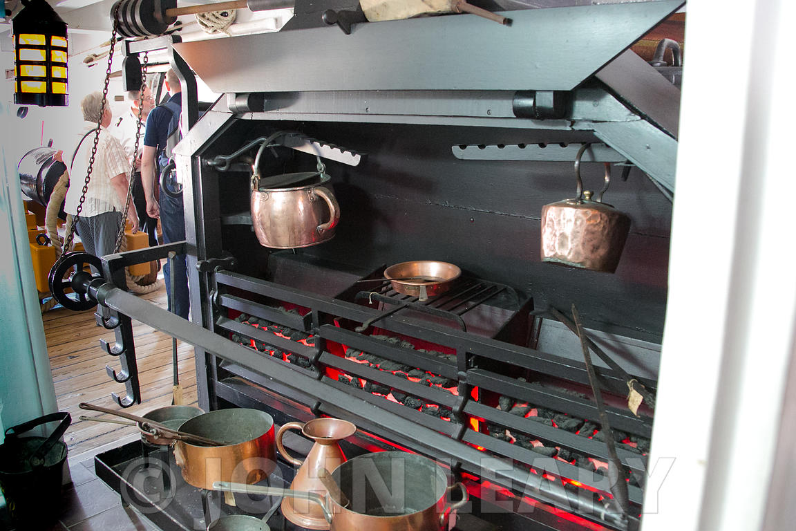 HMS Victory Firehearth.