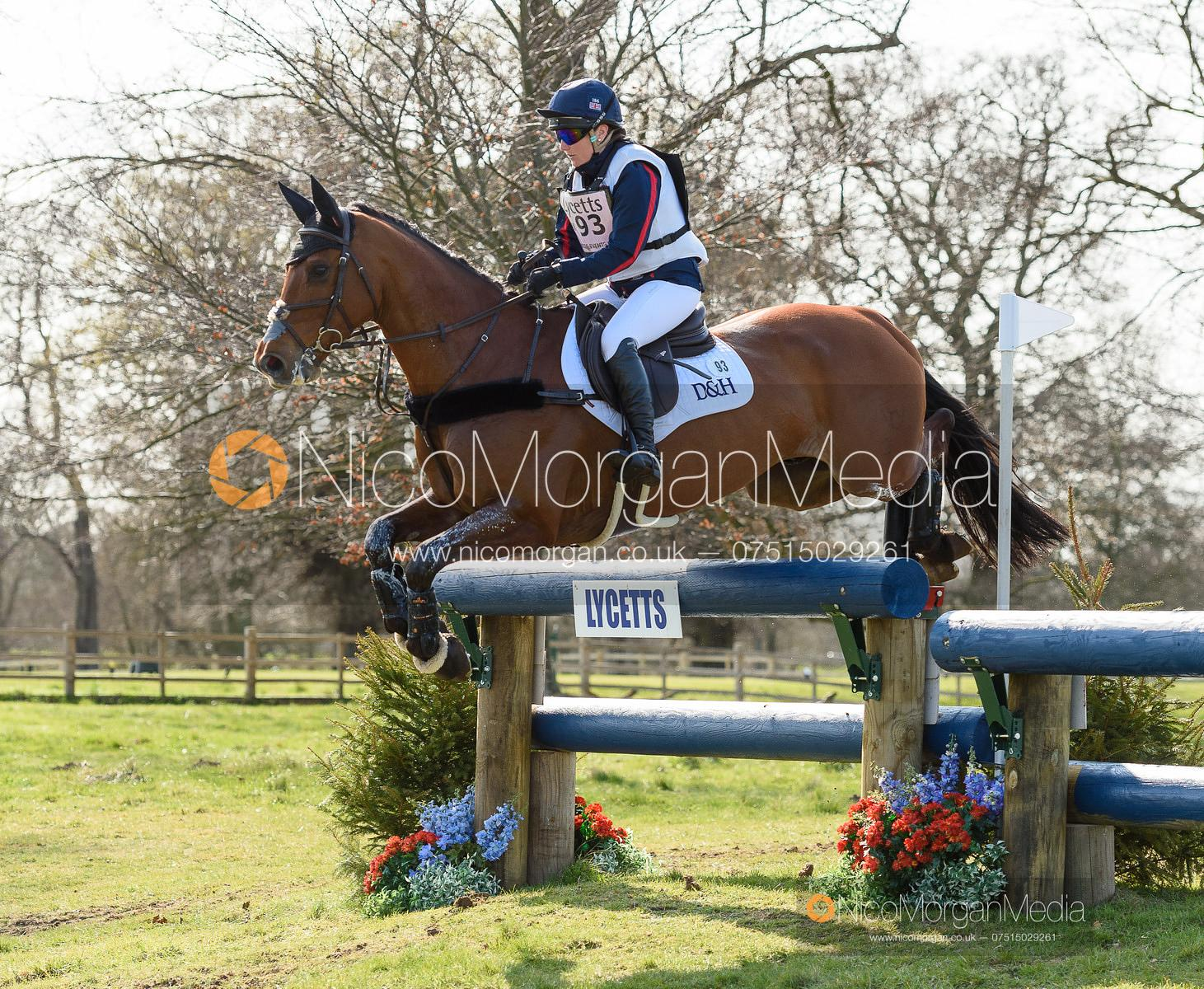Laura Collett and MR BASS, Belton Horse Trials 2019