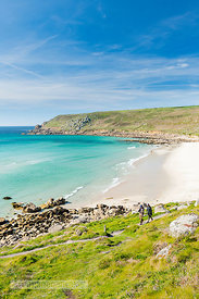 Gwynver (Gwenver) Beach, near Sennen, Cornwall - BP6748