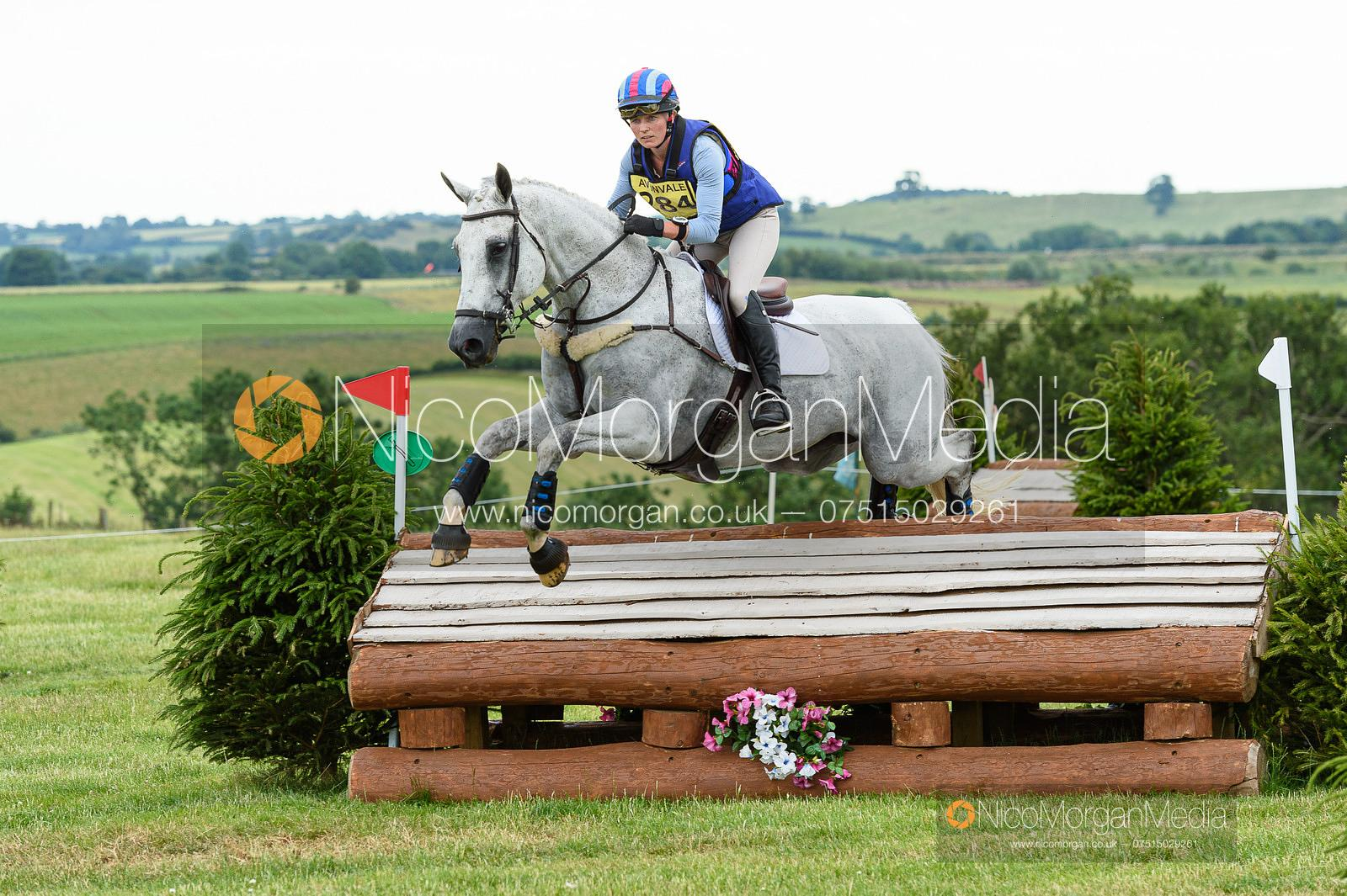 Emma Forsyth and SOLTAIR JUSTICE - Upton House Horse Trials 2019.