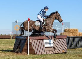 Yasmin Ingham and BUCKLE END BERTIE. Oasby (1) Horse Trials 2020