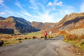 The Road Down The Great Langdale Valley