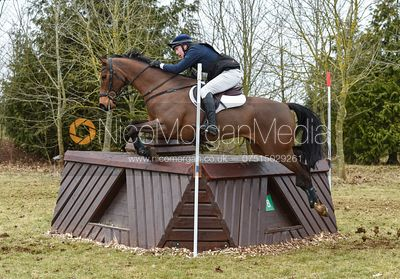 Richard Skelt and CREDO III - Intermediate Sections - Oasby Horse Trials, March 2018.