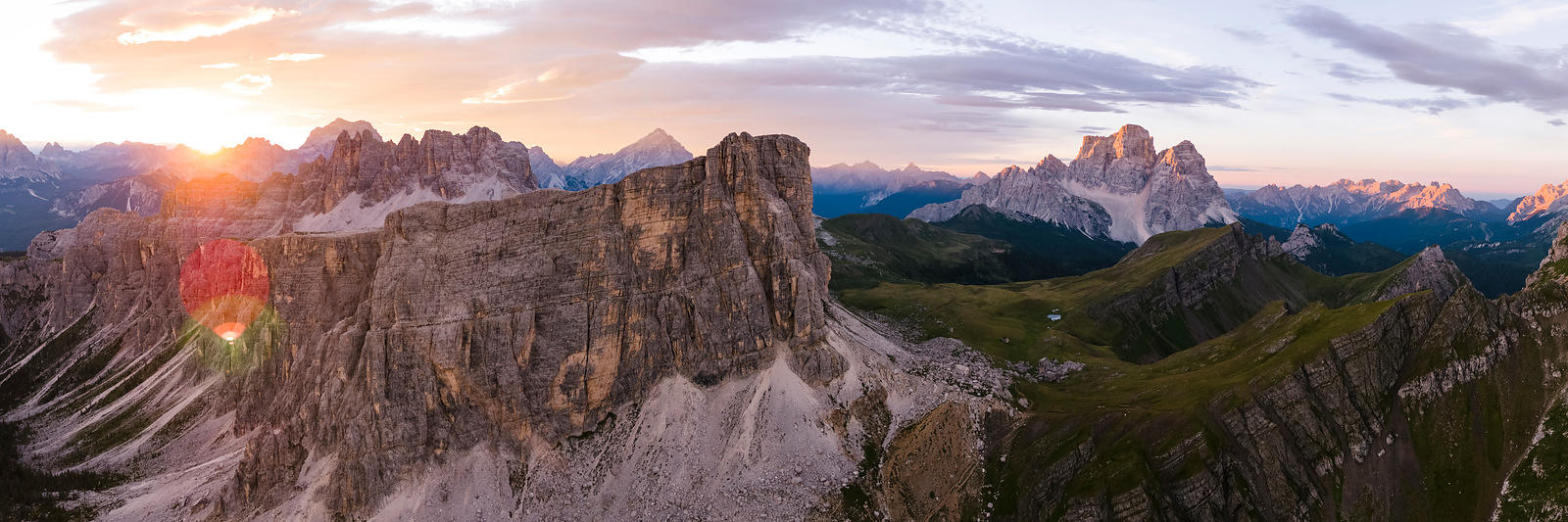 A New Day in the Dolomites