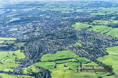 KENDAL 01A - Aerial view of Kendal