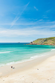 Gwynver (Gwenver) Beach, near Sennen, Cornwall - BP6743B