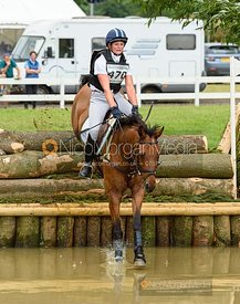 Sophie Jenman and DONERAILE - Aston Le Walls Horse Trials 2019.