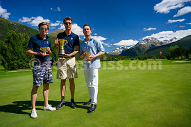 Samedan: 50. St. Moritz Gold Cup 04.07.2020 bis 05.07.2020.Brutto - Gold Cup.1 Huth, Max-Fabian Engadine Golf Club 71.2 Küche...