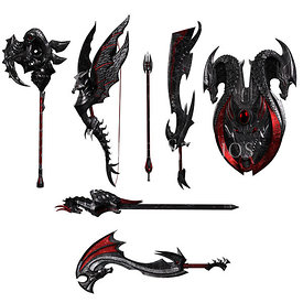 Dragon hunt Weapons