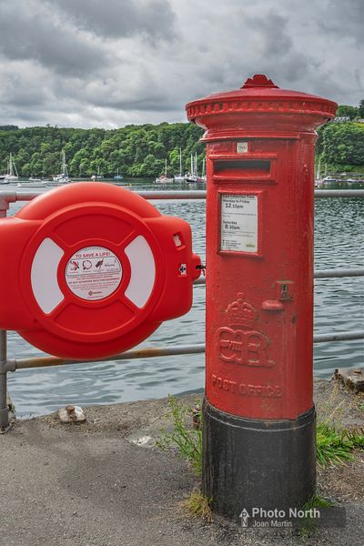 ISLE OF MULL 26A - Edward V111 post box, Tobermory
