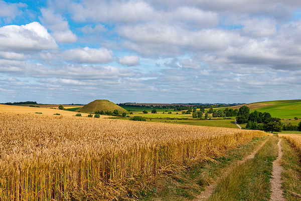 View of Silbury Hill