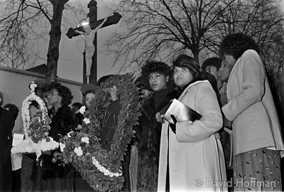 New Cross Fire Memorial Service 1982