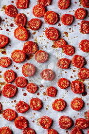Sun-dried cherry tomatoes
