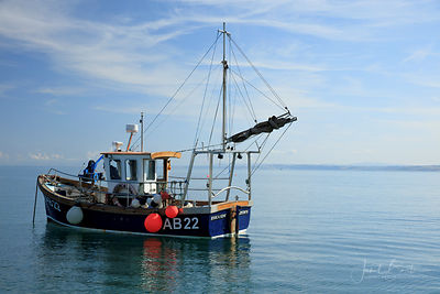 Fishing boat, New Quay