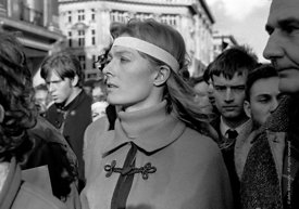 #70410,  Vanessa Redgrave and other leaders, anti-Vietnam war demonstration march from Trafalgar Sq to Grosvenor Sq Sunday 17...