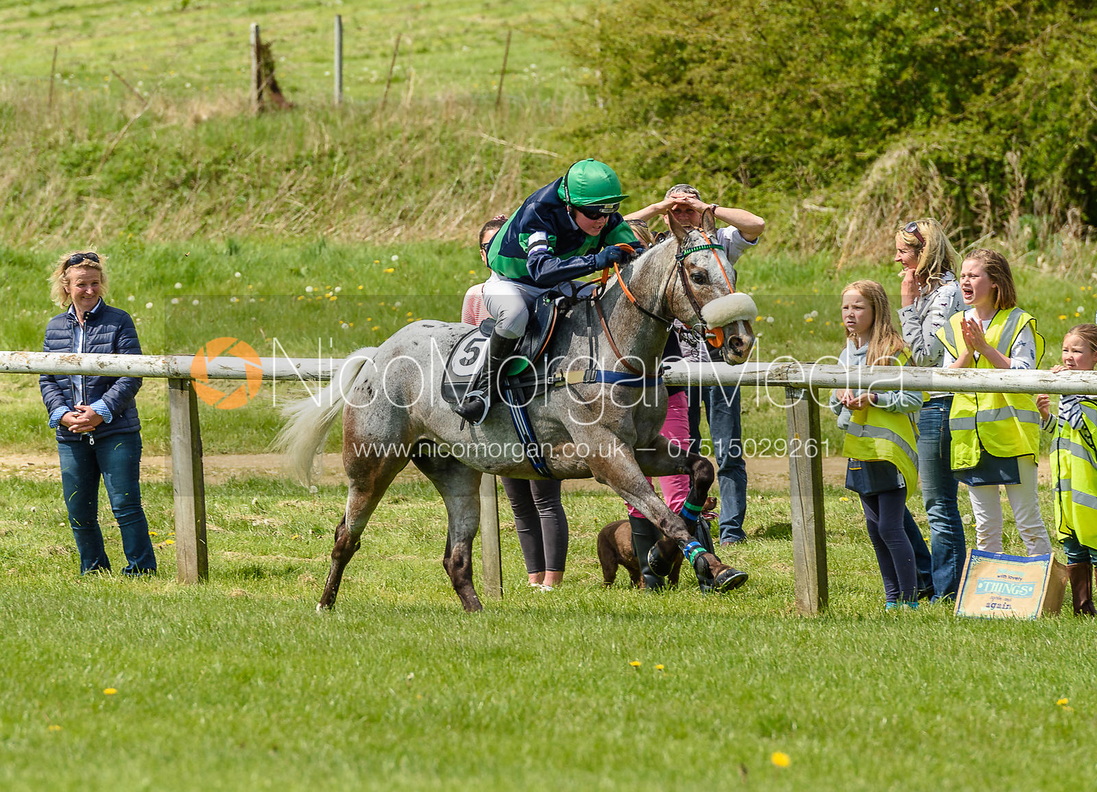 Pony Race 1 - The Melton Hunt Club at Garthorpe