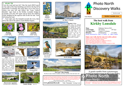Kirkby Lonsdale walk - Two page PDF file