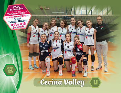 28 dicembre 2019. Foto: per VolleyFoto.it [riferimento file: 2019-12-28/U16-CecinaVolleyLI]