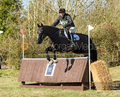 Hazel Towers and SIMPLY SMART. Oasby (1) Horse Trials 2020
