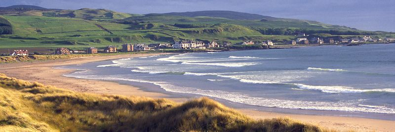 Image - The beach at Machrihanish, Kintyre, Argyll, Scotland