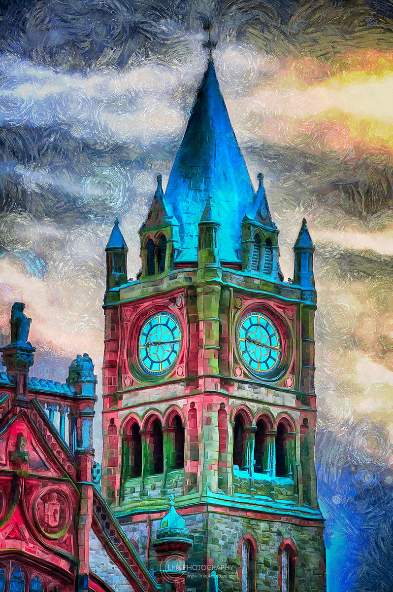 Moody Guildhall Painting