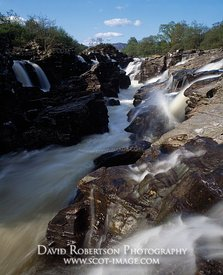 Image - Falls of Orchy, Waterfall, Argyll, Scotland