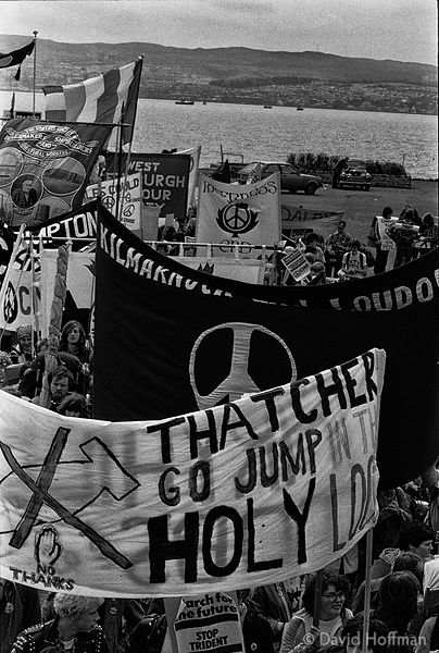 N83-8 CND March for the Future 1981