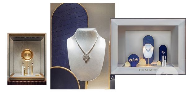 RETAIL PHOTOGRAPHER PARIS : CHAUMET WINDOWS AUTOMN 2020