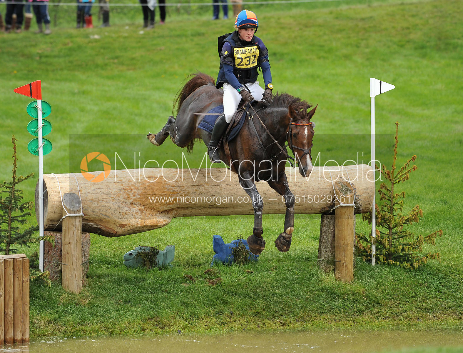 Elaine Pen and VIRA - CIC3*, Bramham 2012