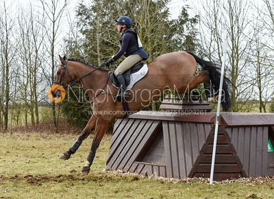 Rosalind Canter and NO EXCUSE - Intermediate Sections - Oasby Horse Trials, March 2018.