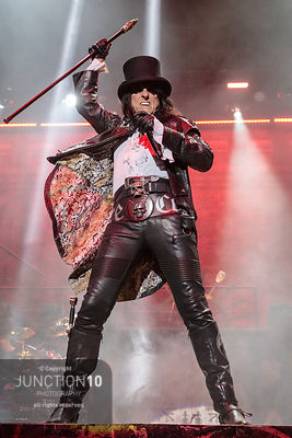 Alice Cooper in concert at Resorts World Arena, Birmingham, United Kingdom - 11 Oct 2019