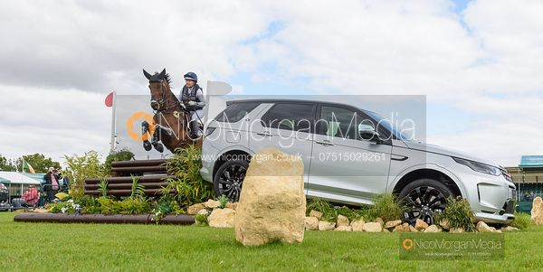 Hannah-Sue Burnett and HARBOUR PILOT - Cross Country - Land Rover Burghley Horse Trials 2019