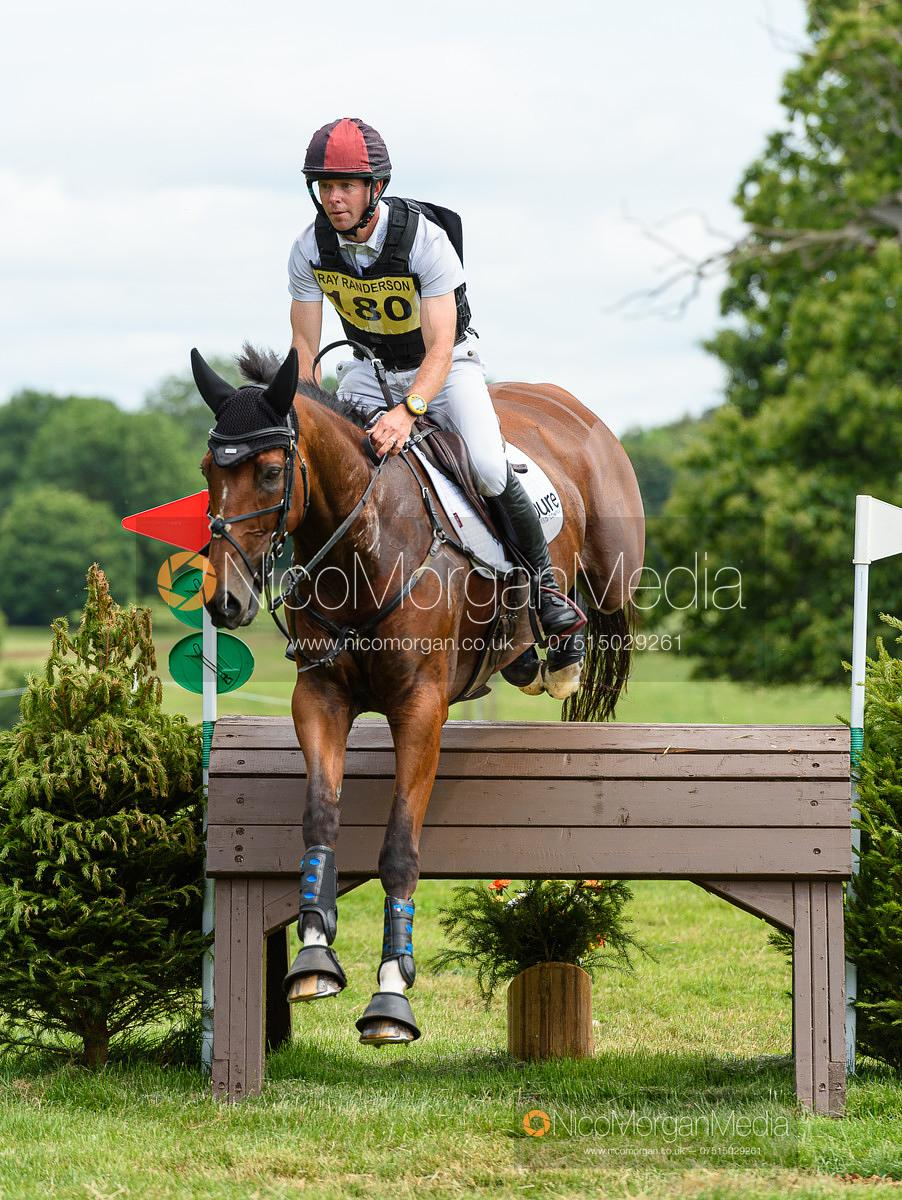 Kevin McNab (AUS) and GLOBAL VICTORY - Upton House Horse Trials 2019.