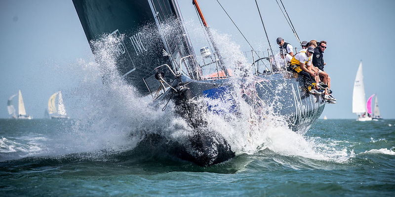 Bow action at Cowes Week II
