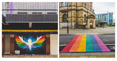 Sheffield City Centre Rainbows