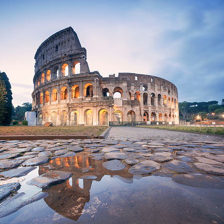Colosseum Reflection